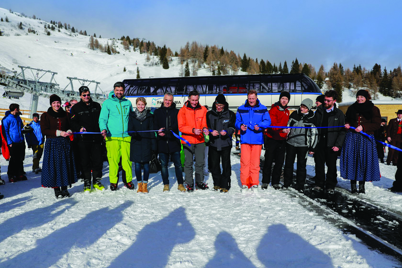 Sterzing: Telemixbahn am Rosskopf eröffnet