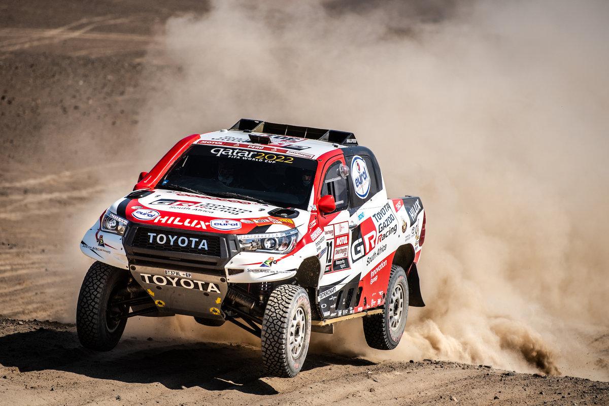 Toyota gewinnt erstmals Rallye Dakar