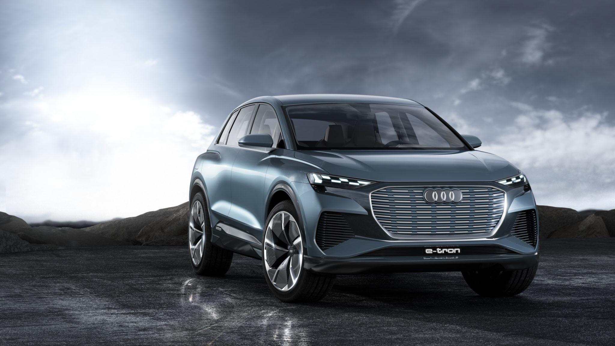 Der Audi Q4 e-tron concept