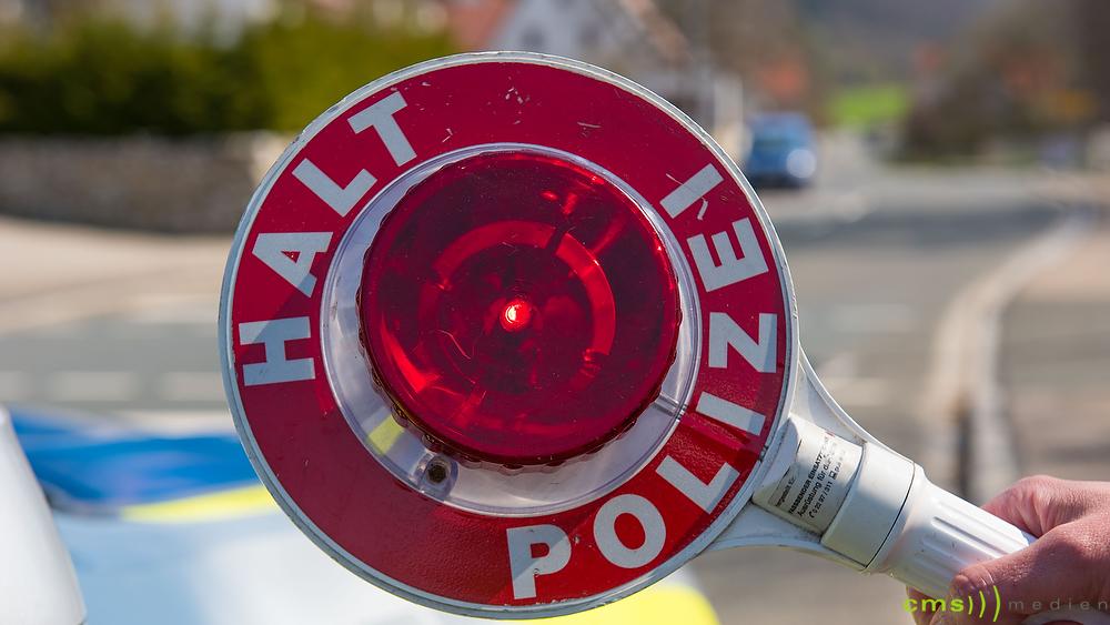 Ende der Osterferien in Bayern – Polizeiaktion in Mittelfranken