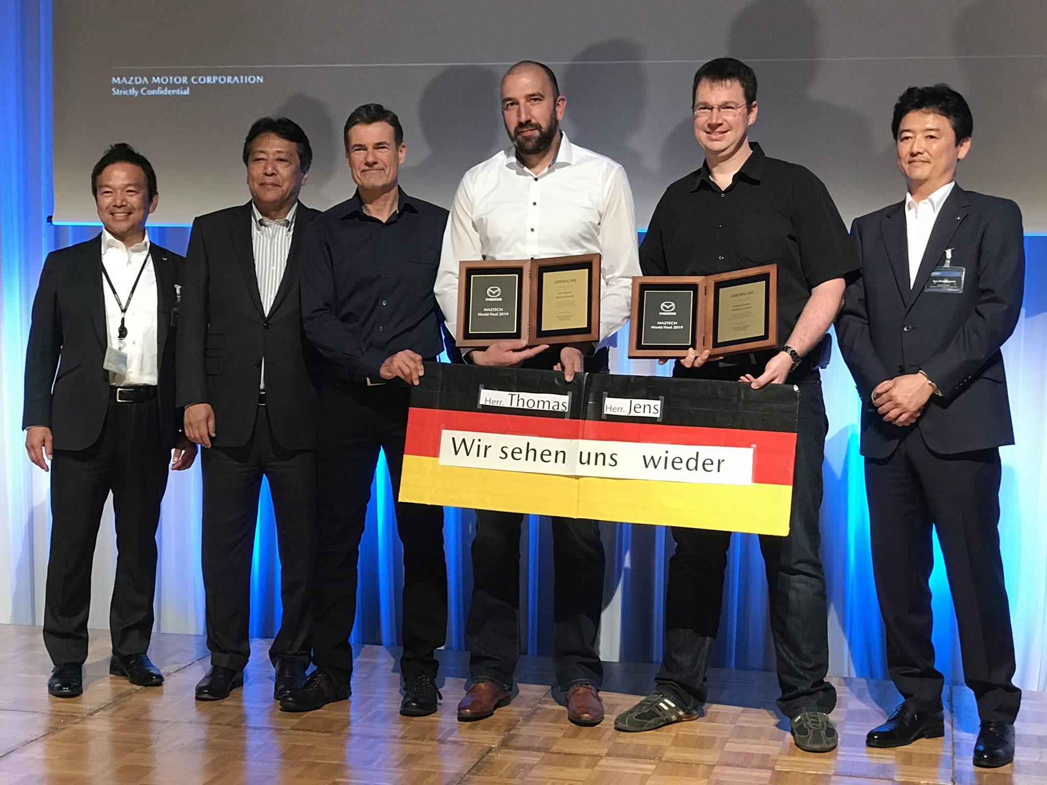MazTech Finale: Deutschland ist Vize-Weltmeister