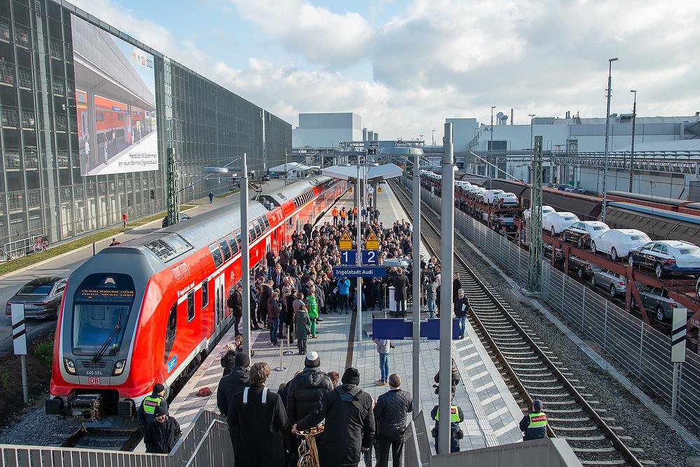 Ingolstadt: Neuer Bahnhalt bei AUDI