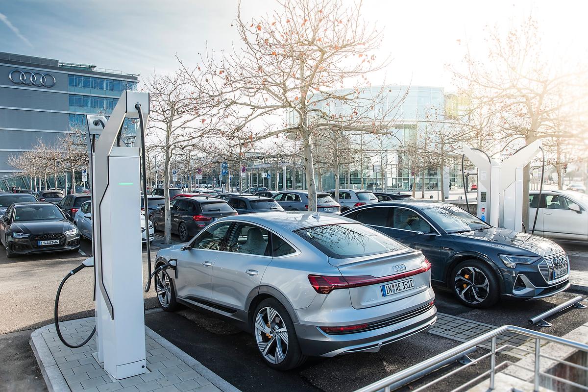 Audi investiert in Ladeinfrastruktur