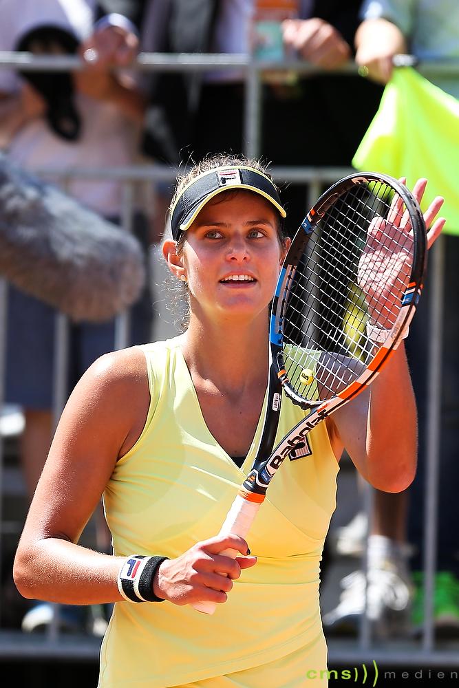 Tennis: Julia Görges hilft Brandopfern