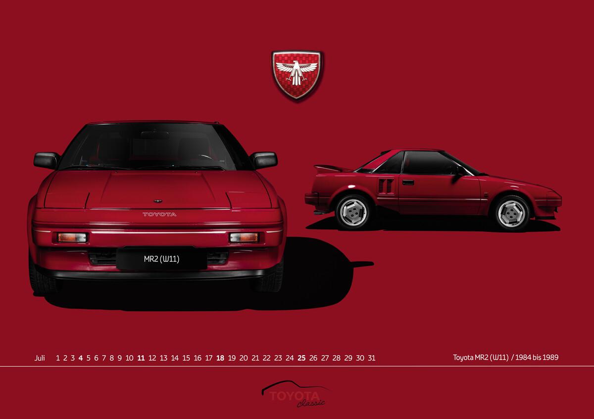 Toyota Classic Kalender