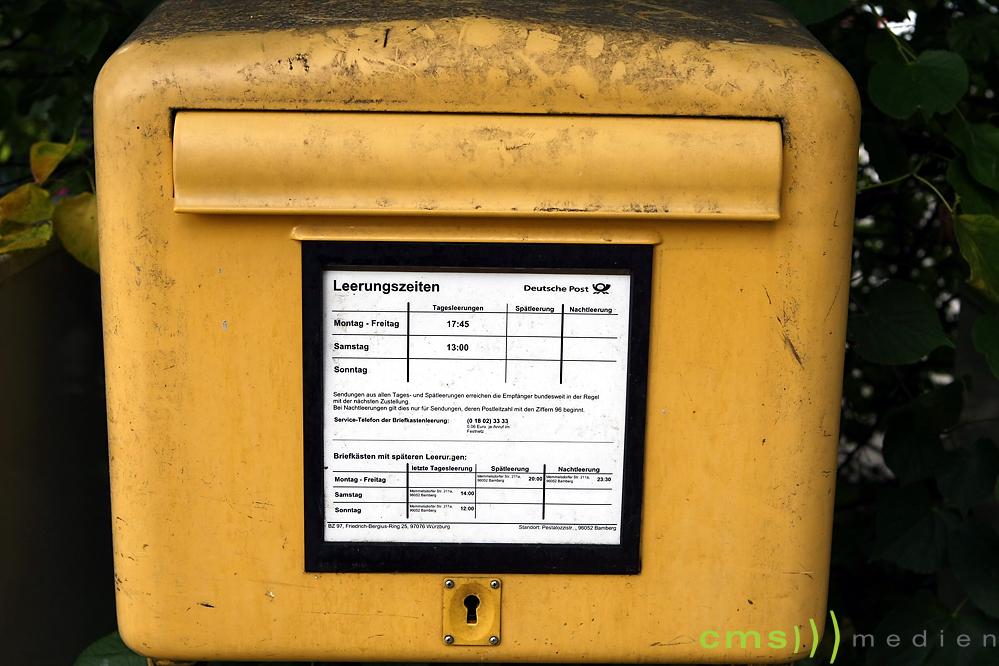 Hassbotschaften per Post